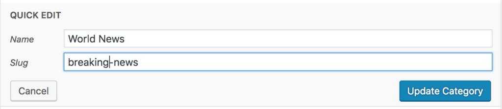 How To Change Categories' URLs In WordPress 2