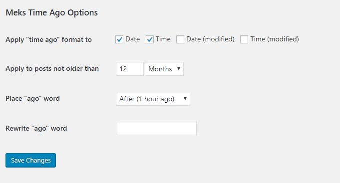 How To Change The Post Date To Time Amount (x Days/Weeks ago) In WordPress 5