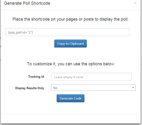 How To Create A Poll On Your WordPress Website 5