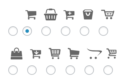cart icons for woocommerce buttons