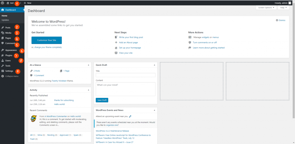 the-wordpress-admin-panel