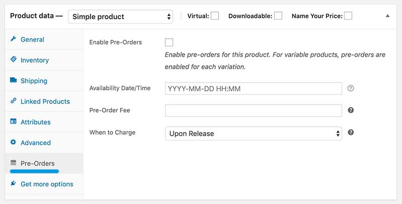 How To Create Pre-Order Products With WooCommerce 1