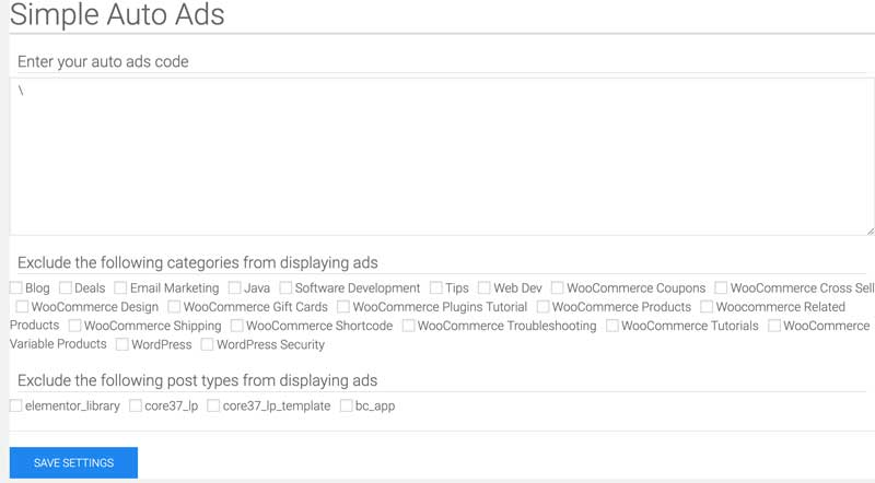 How To Exclude Categories From Adsense Auto Ads 1
