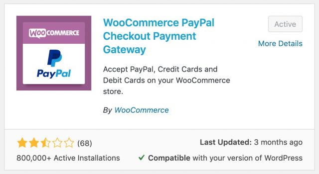install woocommerce paypal checkout gateway plugin