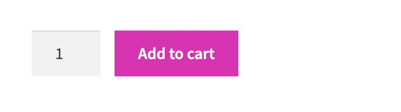 woocommerce buttons background color changed to pink