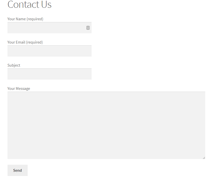 How To Add Columns In Contact Form 7 1