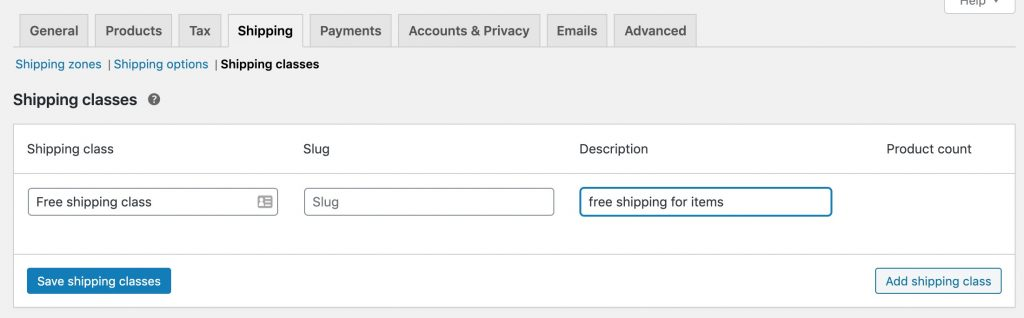 How To Make Woocommerce Free Shipping Per Product 1