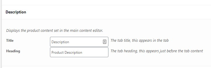 default tab title and heading