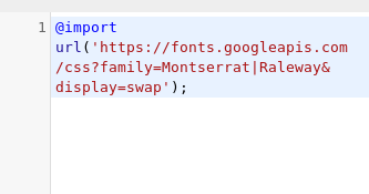 import google fonts to wordpress in the theme customize.png